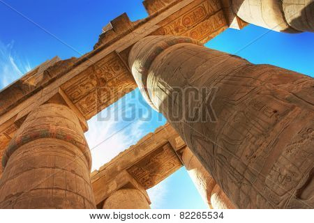 Temple of Karnak (ancient Thebes). Luxor, Egypt