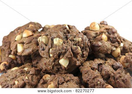 Heap Of Macadamia Cookies