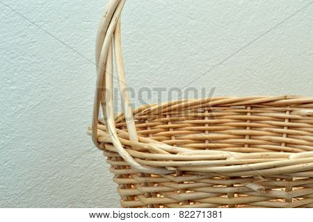Wicker Basket Of Twigs For Products