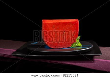 Luxurious Cheese Background.