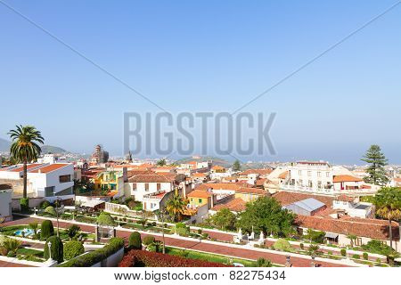 Cityscape Of Orotava, Tenerife, Spain
