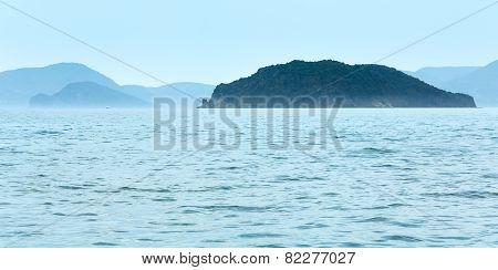 View From Gerakas Beach (Zakynthos , Greece)