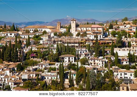 View On Part Of Granada
