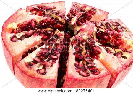 Half Peeled Pomgranate