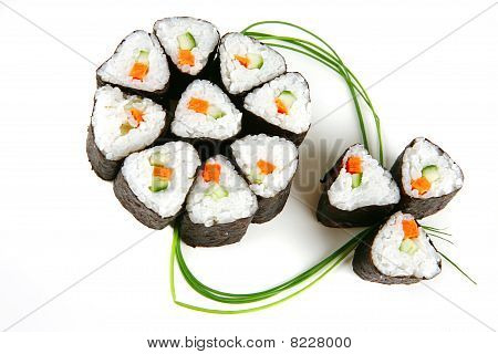 Rolls Served With Stems