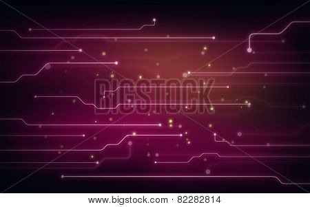 Background illustration of chipset