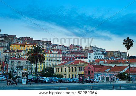 Alfama Skyline, Lisbon