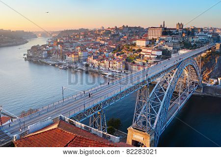 Porto Bridge Panorama