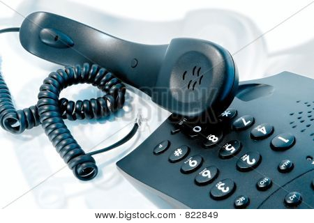 Nervous telephone call