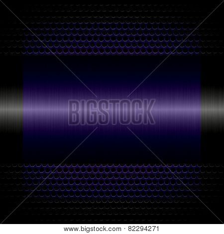 purple steel metal texture with holes metal background