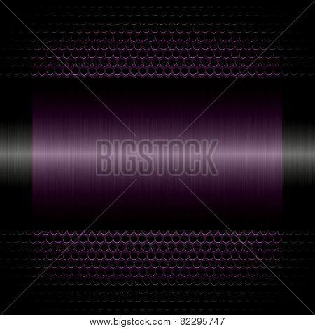 purple steel metal texture with holes metal background
