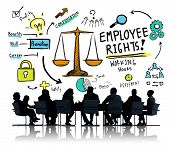 picture of equality  - Employee Rights Employment Equality Job Business Meeting Concept - JPG