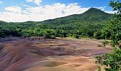 stock photo of chamarel  - Geologic formation of Chamarel called  - JPG