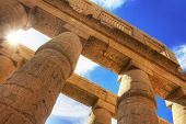 foto of ramses  - Temple of Karnak  - JPG