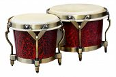 stock photo of bongo  - Latin percussion - JPG