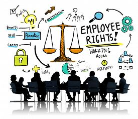 picture of employee  - Employee Rights Employment Equality Job Business Meeting Concept - JPG