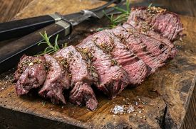 foto of wagyu  - Grilled Steak Slices - JPG