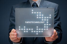 picture of nanotechnology  - Nanotechnology concept - JPG