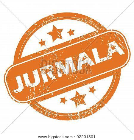 Jurmala round stamp