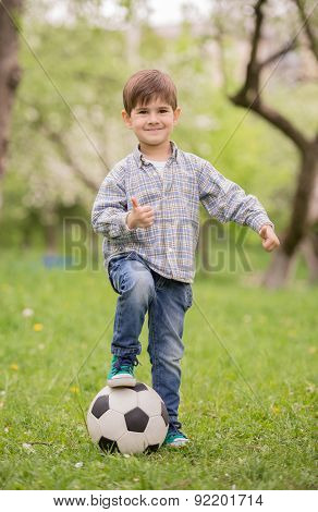 Little Football Player