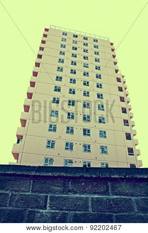 high-rise tower block