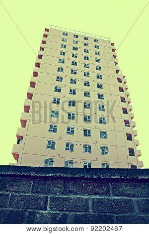 high-rise tower block