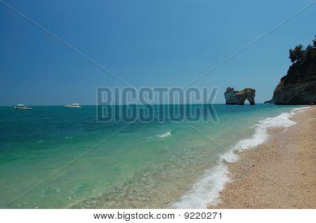 Beach  Landscape, Italy