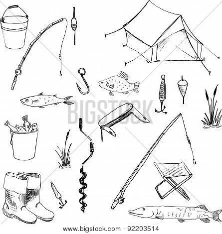 Vector accessories for fishing