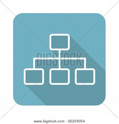 Scheme square icon