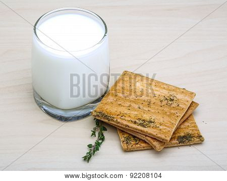 Kefir With Pastry