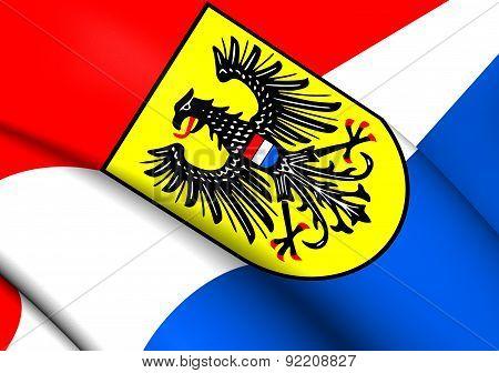 Flag Of Heilbronn, Germany.