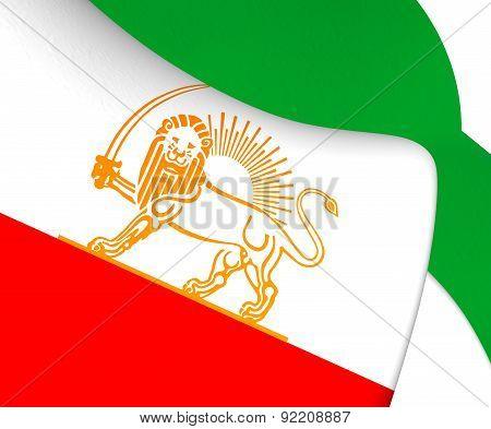 Flag Of Iran (1924)