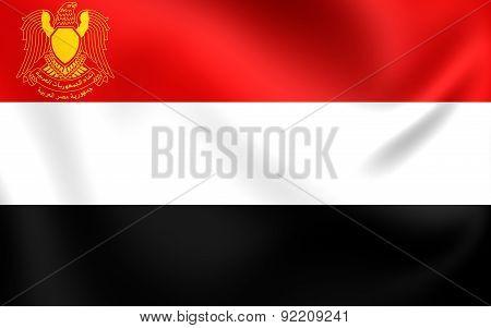 President Of Egypt Flag