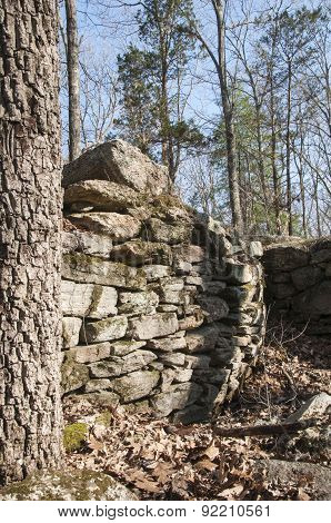 Old Foundation Wall
