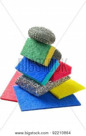 Different Kitchen Sponges