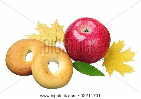 Apple And Bagels