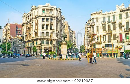 The Talaat Harb Square