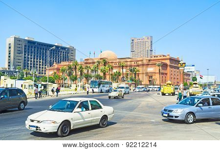 The Tahrir Square