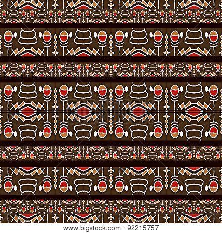 Hieroglyphs Tribal Pattern