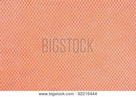 Orange Nonwoven Fabric Background