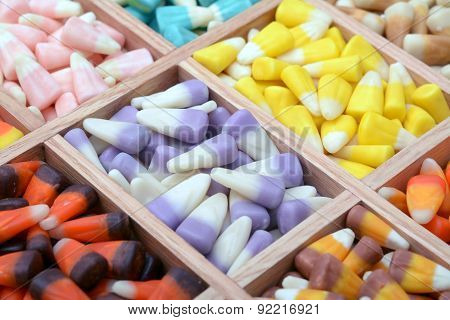A Lot Of Tooth Corn Candies