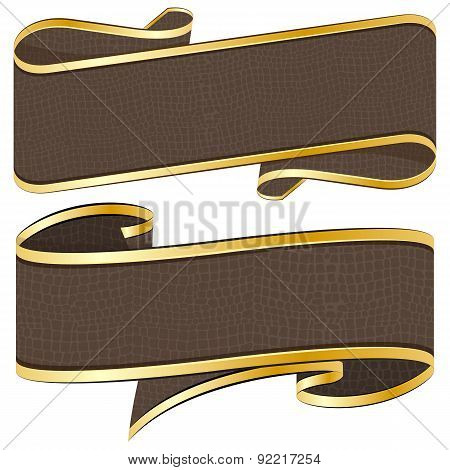 leather  ribbon collection