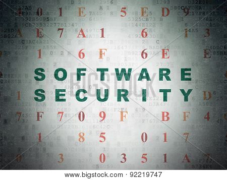 Safety concept: Software Security on Digital Paper background
