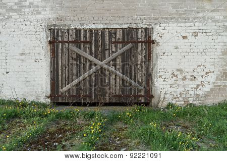 Door To Rural Farm