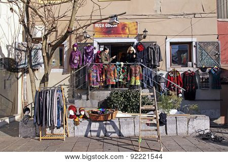 Street Clothes Shop, Slovenia