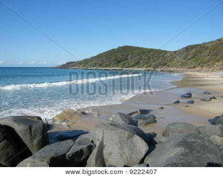 Beach in National Park