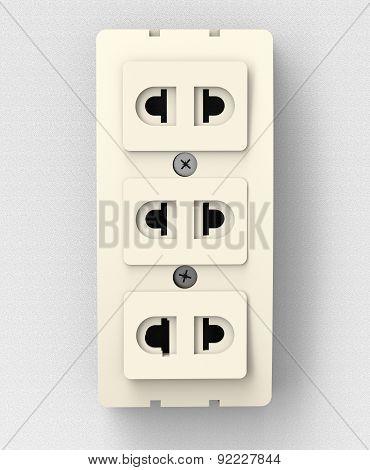 Power Socket On Wall