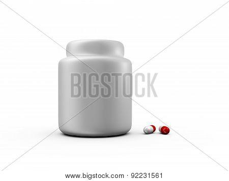 Medical Capsules And Pillbox