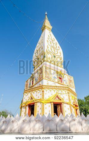 Stupa In Loei, Northeast Of Thailand