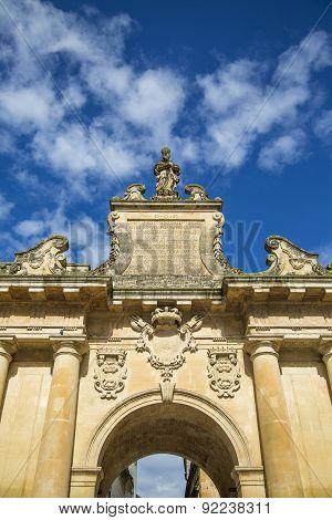 Porta San Biagio In Lecce, Italy